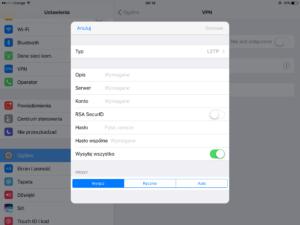 Mikrotik L2TP/IPsec podłączenie z iOS 10