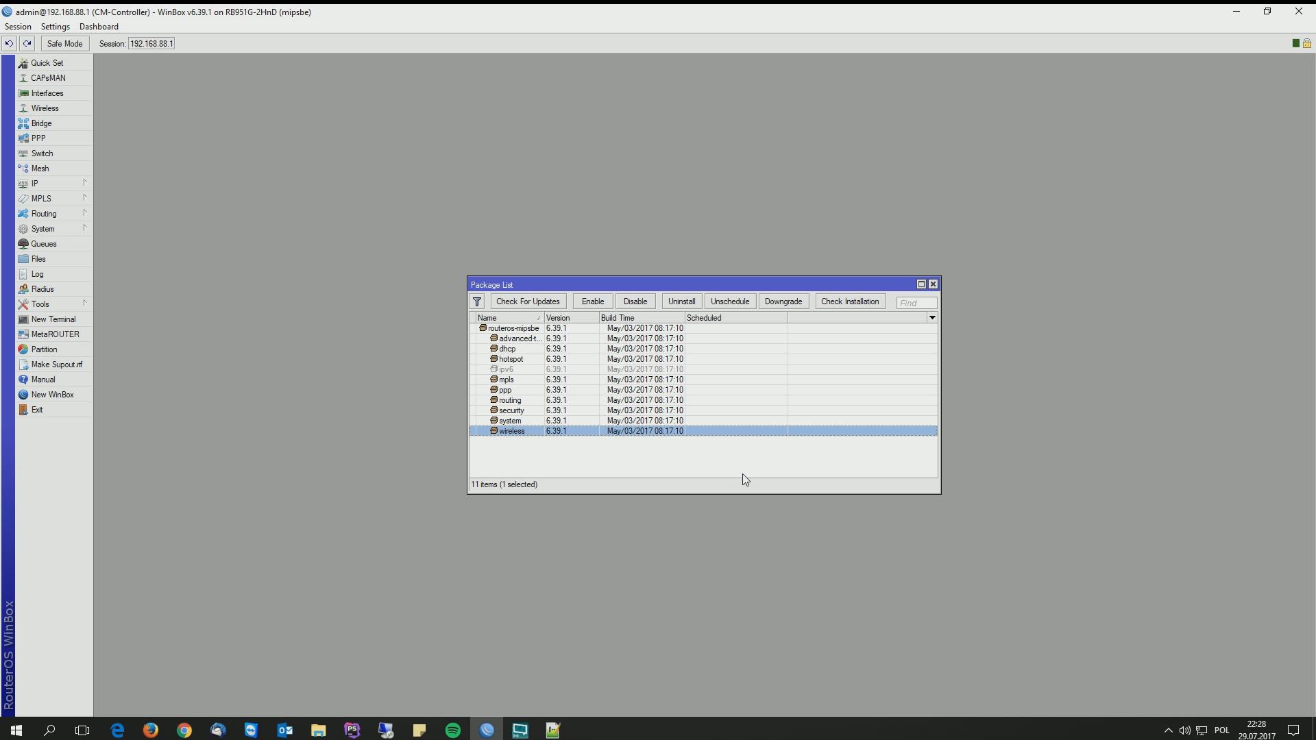 Konfiguracja CAPsMANa - Just Another IT Guy