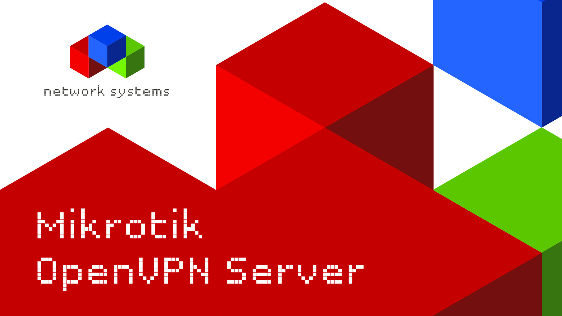 Mikrotik OpenVPN Server