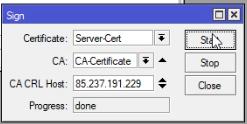 Mikrotik SSTP VPN