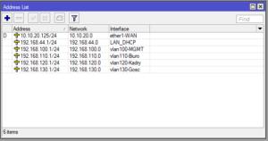 Mikrotik konfiguracja VLAN